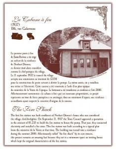 Circuit patrimonial - Cabane à feu - Municipalité Saint-Pacôme