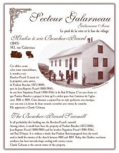 Circuit patrimonial - Moulin à scie Boucher-Picard - Municipalité Saint-Pacôme