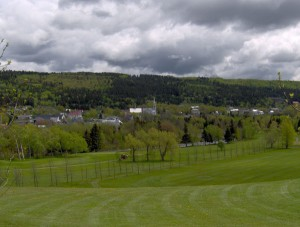 Plein air et sports - Vue golf 03 - Municipalité Saint-Pacôme