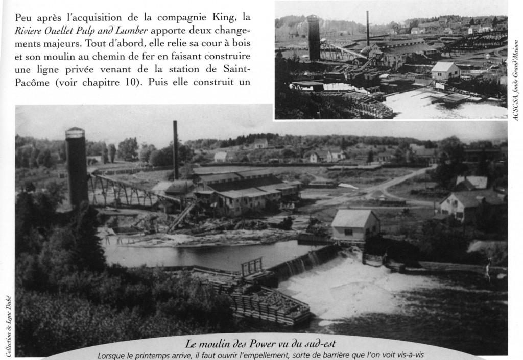 Moulin des Power - Municipalité Saint-Pacôme